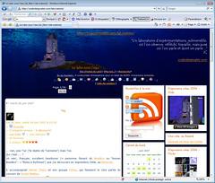 ''Le Labo sous l'eau'' avec IE7