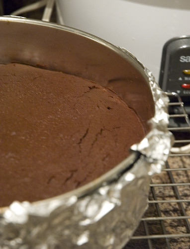 baked chocolate torte