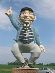 World's Largest Umpire
