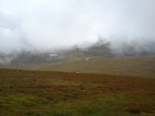 Cloud clears over the Great Moss