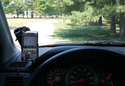 GPS and Treo