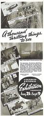 Vintage Ad #323: 1939 CNE (jbcurio) Tags: toronto cne vintagead