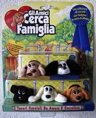Italian Pound Puppies (sciencensorcery) Tags: toys italian plush 80s eighties poundpuppies