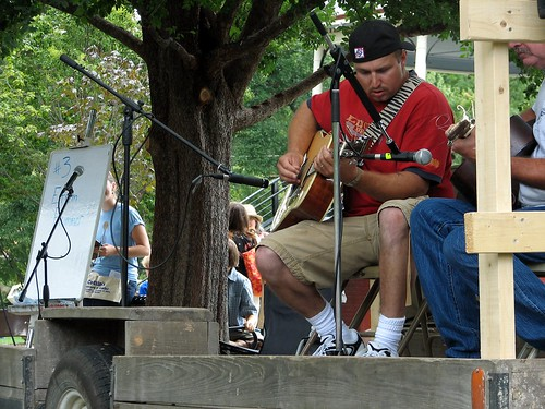 Fiddling and Picking Championships, Lawrence KS, August 2007
