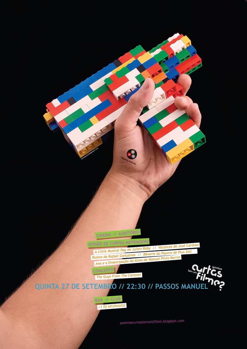 Cartaz Quantas curtas tem um filme? - sessão de 27setembro2007