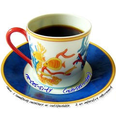 necessity...... (steph.A) Tags: cup coffee definition necessity dictionaryofimage
