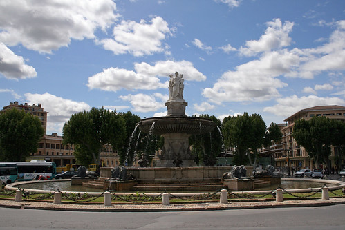 Travel to the city of Aix