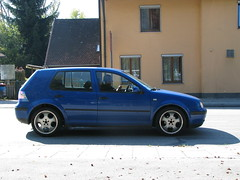 Euro MKIV Golf w/euro tails, staggered wheels