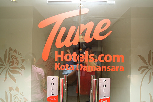 Entrance to Tune Hotel