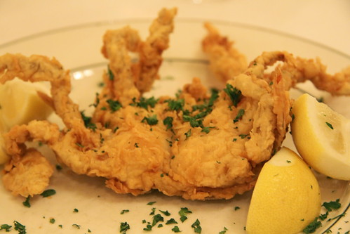 Galatorie's, New Orleans - fried soft shell crab