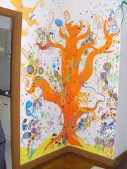 photo 2 (yarnovernewyork) Tags: china tree art wall painting artwork mural asia macau treeoflife taipa