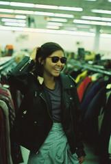 (allyson ansusinha) Tags: sunglasses leather virginiaslims