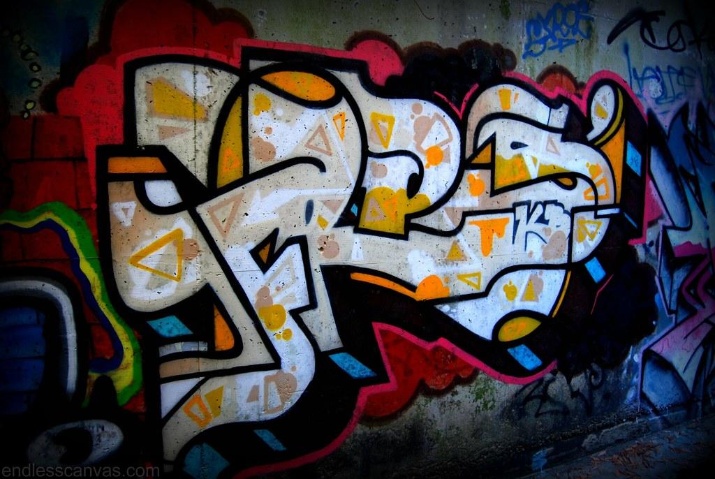 Fres Graffiti Piece East Bay California.