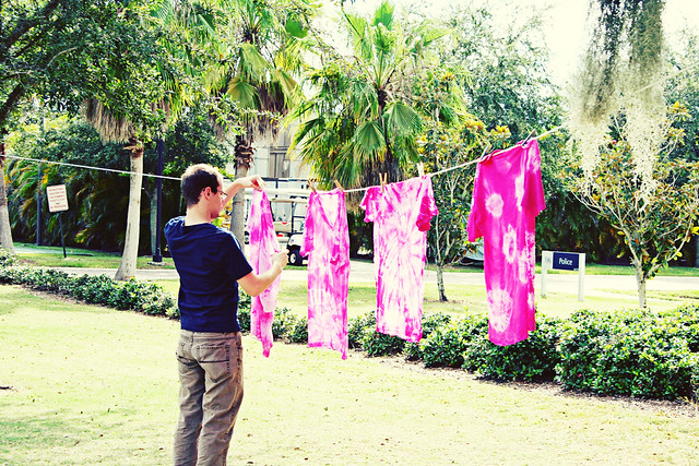 tie dye against breast cancer