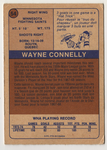 Wayne Connelly back