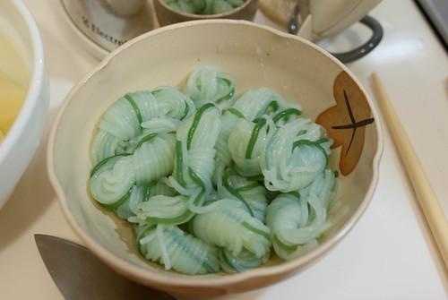 馬鈴薯燉肉&炒烏龍麵