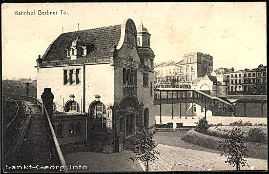 Bahnhof Berliner Tor in Hamburg St. Georg