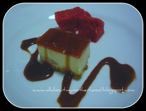 Ribena Cheese Cakes