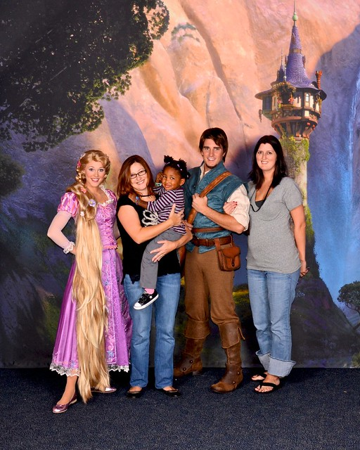 Tangled press event