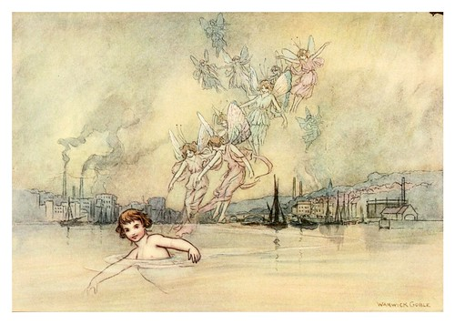 005-The water-babies a fairy tale for land-baby 1909-ilustrado por  Warwick Goble