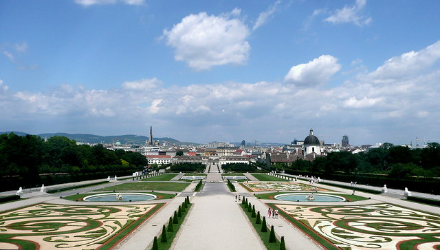 Belvedere french gardens