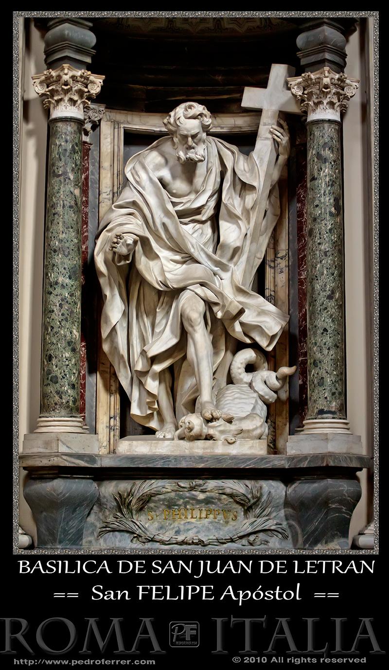 Roma - Basílica de San Juan de Letrán - San Felipe Apóstol