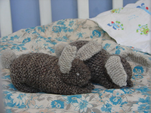 knitted rabbits