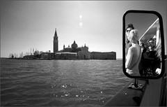 Chi scatta cosa? (invitojazz) Tags: venice bw reflection delete2 mirror boat nikon shot save3 save7 save8 delete save save2 save9 save4 save5 save10 laguna save6 venezia vaporetto specchio sangiorgio riflesso scatto d90 flickraward flickraward5 flickrawardgallery invitojazz vitopaladini savedbythehotboxuncensoredgroup