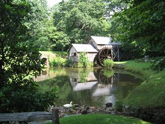 Mabry Mill water wheel (Nancy Rose) Tags: old pond oneofakind ducks waterwheel rurallife vanishingbeauty