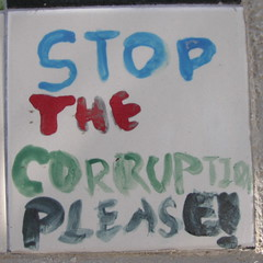 Stop the corruption