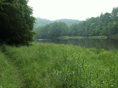 Harzer Hexen Stieg Talsperre unter Schieferberg