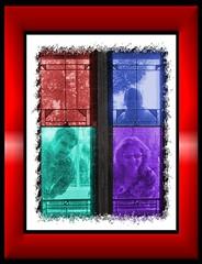 Penn, Deby & Kent - windows (Serrattaritaville) Tags: chicago penn deby 20040823 serrattaritaville katdaddy