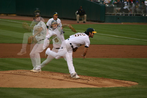 Dan Haren - Oakland Athletics Pitcher