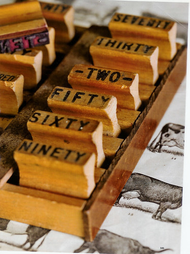 vintage rubber stamps