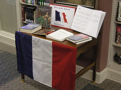 Fine Arts Department Display (CPL Fine Arts & Special Collections) Tags: display books bastilleday finearts specialcollections clevelandpubliclibrary