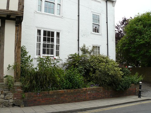 Our flat in Rye - we're on the ground floor.
