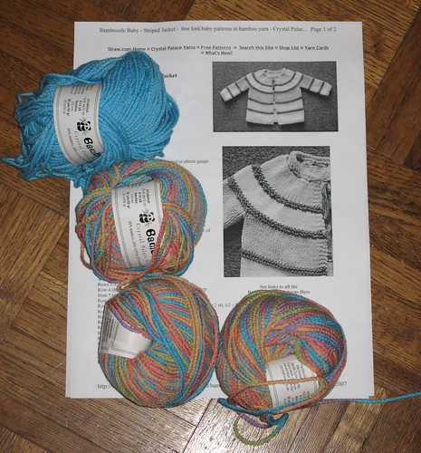 bamboozle pattern and yarn