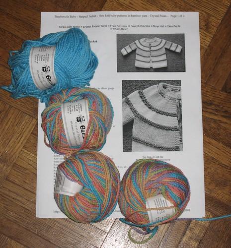 bamboozle pattern and yarn