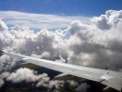 In my plane - sky & Clouds