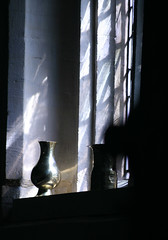 Yelford, Oxfordshire (Martin Beek) Tags: light window mystery contrast christian oxfordshire lightinthedarkness lightandshade thelightcamethroughthewindow yelford imagesoffaith martinbeek