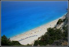 Egremni Beach_Lefkada (splibra) Tags: travel sea summer vacation seascape beach canon landscape holidays greece ionian egremni ionio lefkada supershot 400d canon400d