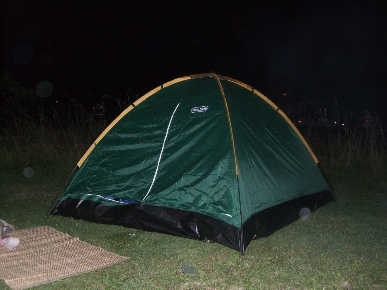 Our small little tent