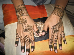 Mehndi to mehndi hai (Sehar Atif) Tags: wedding usa bride hands baltimore henna hina mehndi bridalhenna