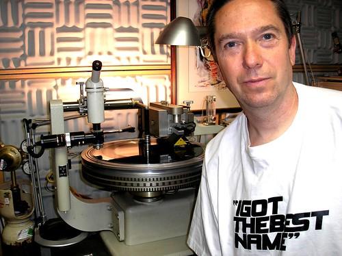 John Dent at Loud Mastering