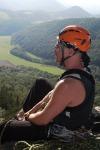 Emil am Gipfel