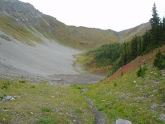 Dried tarn (Dave MacDonald) Tags: rockymountains scramble peterlougheedprovincialpark mtindefatigable kananaskislakes