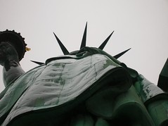 Up Her Skirt (canzone d'amore) Tags: nyc newyorkcity newyork statueofliberty unusualviews