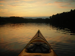 Marsh Creek Lake - Sunset (wildcanoersteve) Tags: kayak paddle pennkayaker marshcreeklake pennsylvaniakayakingandcanoeinggroup