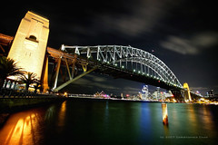 Sydney Harbour Bridge (#9) (Christopher Chan) Tags: city travel bridge night canon australia circularquay nsw slideshow operahouse 1022mm sydneyoperahouse 30d i500 sydneytravelr