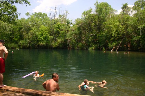 Berry Springs freshwater pool. NT, Oz.